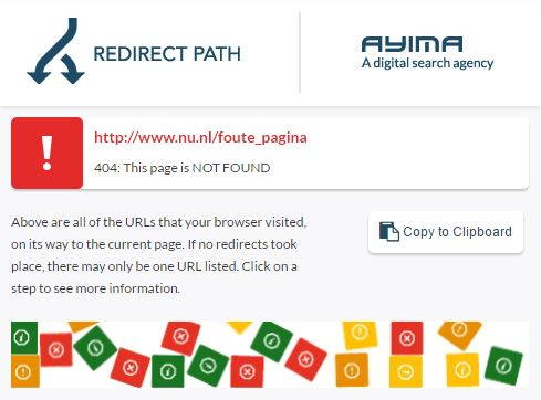 Search advertising tools - Ayima redirect path