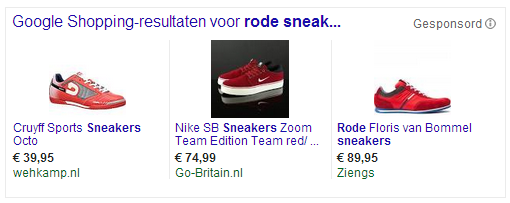 Shopping Images Differentieren