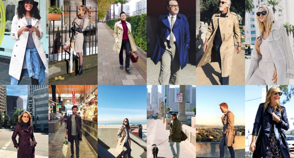 contentmarketing Burberry Art of the Trench