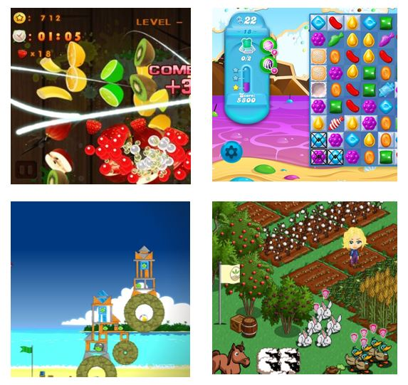 mobile games examples