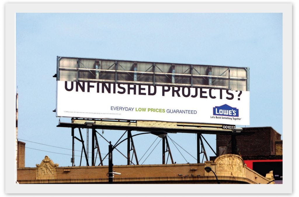 humor in content unfinished projects
